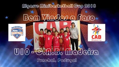 AMC U10 CABMadeira_Team Presentation1